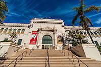 Natural History Museum, Balboa Park, San Diego, California USA.