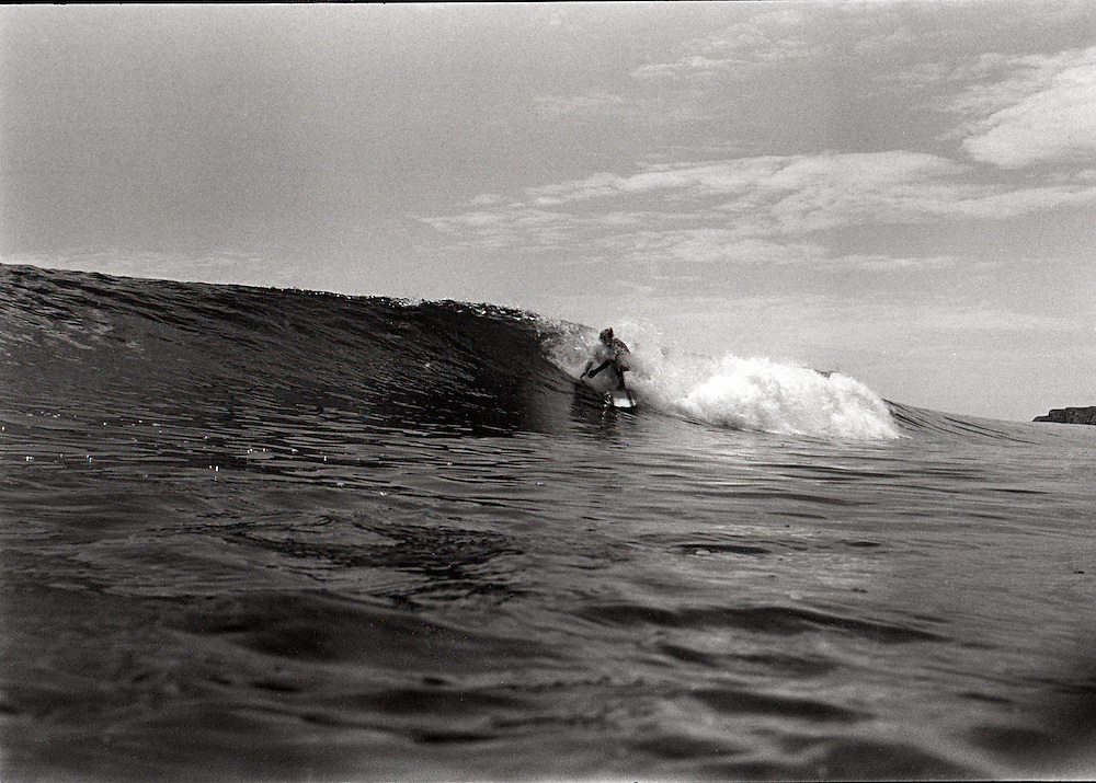 This is the first of the two shot sequence taken with the Nikonos on a fun summer day at Rights and Lefts in 1966.