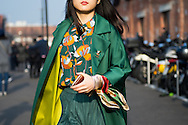 Florals and Green, Outside Gucci FW2017