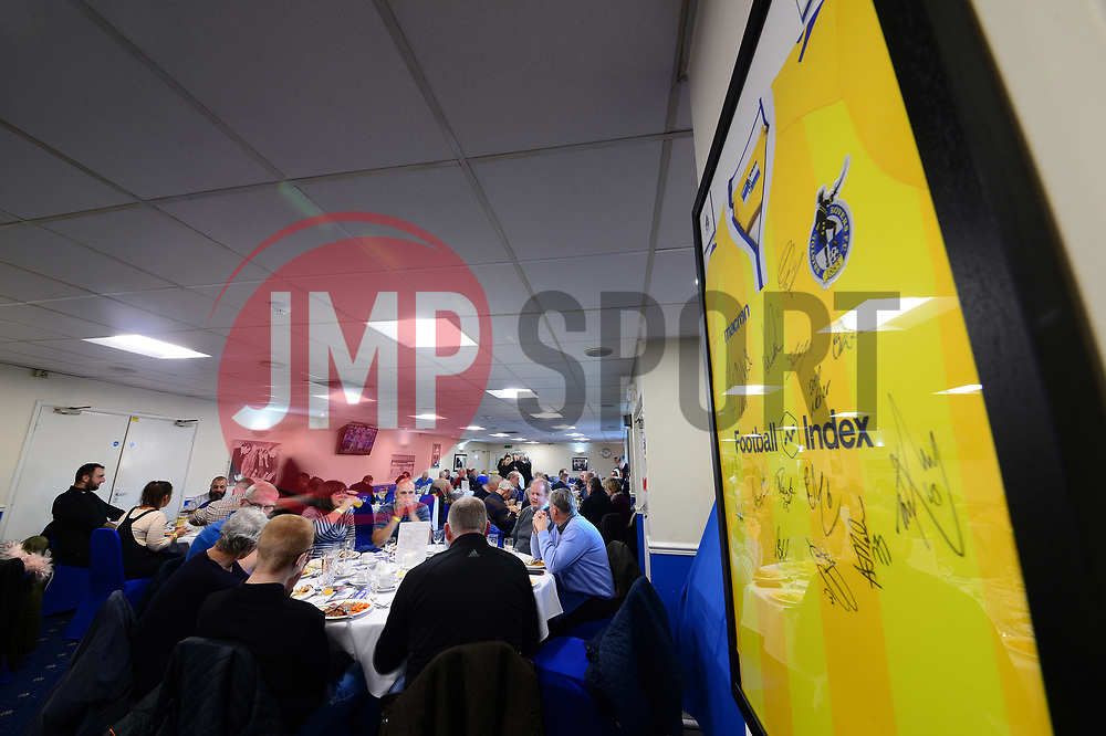 Popular suite  - Mandatory by-line: Dougie Allward/JMP - 17/11/2018 - FOOTBALL - Memorial Stadium - Bristol, England - Bristol Rovers v Scunthorpe United - Sky Bet League One