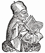 Solon (c640-559 BC) Greek lawyer, poet and merchant. Woodcut from 'Liber chronicarum mundi' (Nuremberg Chronicle) by Harmann Schedel (Nuremberg, 1493).