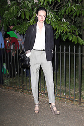 © London News Pictures. 26/06/2013. London, UK. Edie Campbell at  The Serpentine Gallery summer party, Kensington Gardens London UK, 26 June 2013, Photo credit: Richard Goldschmidt/LNP