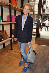 HANNELI RUPERT at a lunch hosted by Alice Naylor-Leyland and Tamara Beckwith in celebration of the Coach 2015 collection held at Coach, New Bond Street, London on 18th September 2014.