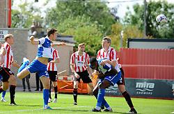 Tom Lockyer of Bristol Rovers scores - Mandatory by-line: Neil Brookman/JMP - 25/07/2015 - SPORT - FOOTBALL - Cheltenham Town,England - Whaddon Road - Cheltenham Town v Bristol Rovers - Pre-Season Friendly
