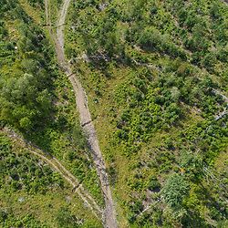 43.48060, -71.15279. Birch Ridge location E. Straight down - 400 feet above ground. New Durham, New Hampshire.
