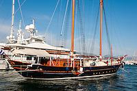 Piraeus, Greece. Boats in the Marina.