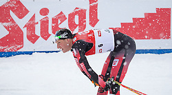 31.01.2016, Casino Arena, Seefeld, AUT, FIS Weltcup Nordische Kombination, Seefeld Triple, Langlauf, im Bild Bernhard Gruber (AUT) // Bernhard Gruber of Austria reacts after 15km Cross Country Gundersen Race of the FIS Nordic Combined World Cup Seefeld Triple at the Casino Arena in Seefeld, Austria on 2016/01/31. EXPA Pictures © 2016, PhotoCredit: EXPA/ Jakob Gruber