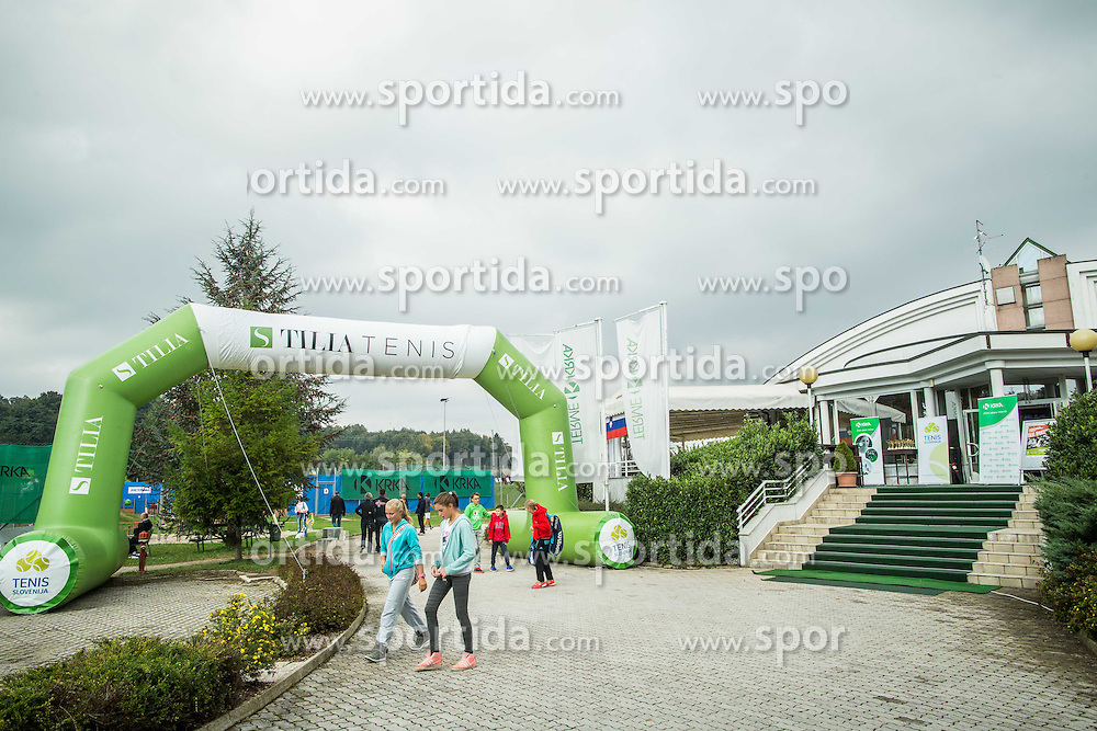 Tennis tournament Tilia Masters 2015, on October 3, 2015 in TK Krka Otocec, Slovenia. Photo by Vid Ponikvar / Sportida