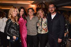 Left to right, Melissa Odabash, Lisa Snowdon, Stephen Webster, Assia Webster and Nick Hooper at the Fortnum & Mason Food and Drink Awards, Fortnum & Mason Food and Drink Awards, London, England. 10 May 2018.