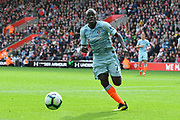 Ngolo Kante (7) of Chelsea on the attack during the Premier League match between Southampton and Chelsea at the St Mary's Stadium, Southampton, England on 7 October 2018.