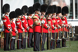 The Band of the Scots Guards <br /> Cana Cup<br /> Spruce Meadows Masters - Calgary 2015<br /> © Hippo Foto - Dirk Caremans<br /> 11/09/15