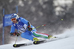 14.02.2013, Planai, Schladming, AUT, FIS Weltmeisterschaften Ski Alpin, Riesenslalom, Damen, 1. Durchgang, im Bild Denise Karbon (ITA) // Denise Karbon of Italy in action during 1st run of the ladies Giant Slalom at the FIS Ski World Championships 2013 at the Planai Course, Schladming, Austria on 2013/02/14. EXPA Pictures © 2013, PhotoCredit: EXPA/ Sammy Minkoff