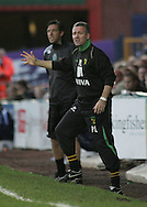Stockport - Saturday October 31st 2009: Paul Lambert, manager of Norwich City, during the game against Stockport County during the Coca Cola League One match at Edgeley Park, Stockport. (Pic by Michael SedgwickFocus Images)