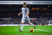 Mateusz Klich of Leeds United (43) in action during the EFL Sky Bet Championship match between Leeds United and Bristol City at Elland Road, Leeds, England on 24 November 2018.