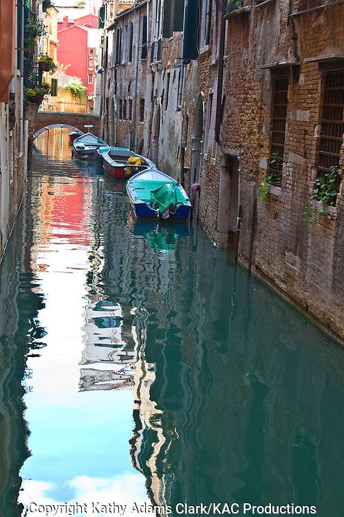 Street scenes in Venice, Italy.