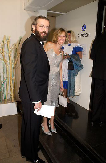 Mr. and Mrs. Hans Rausing, Antiques Fair charity Gala evening in aid of Kids, Grosvenor House. 12 June 2003. © Copyright Photograph by Dafydd Jones 66 Stockwell Park Rd. London SW9 0DA Tel 020 7733 0108 www.dafjones.com