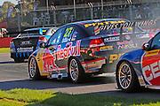 V8 Supercars. Clipsal 500. Adelaide Parklands Circuit.<br /> Adelaide. Australia. Friday 1/3/2013.<br /> Casey STONER (Aus) Triple Eight Race Engineering Holden <br /> copyright: © ATP Damir IVKA<br />  - <br /> V8 Tourenwagen Rennen in Adelaide, Australien - 2013,  v8 Saloon car race named Clipsal 500 - Honorarpflichtiges Foto, Fee liable image, Copyright © ATP Damir IVKA