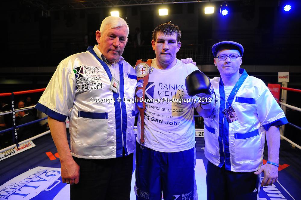 John McDermott defeats Matt Skelton for the English Heavyweight Title plus undercard at York Hall, Bethnal Green,London on 15th March 2013. © Leigh Dawney Photography 2013.