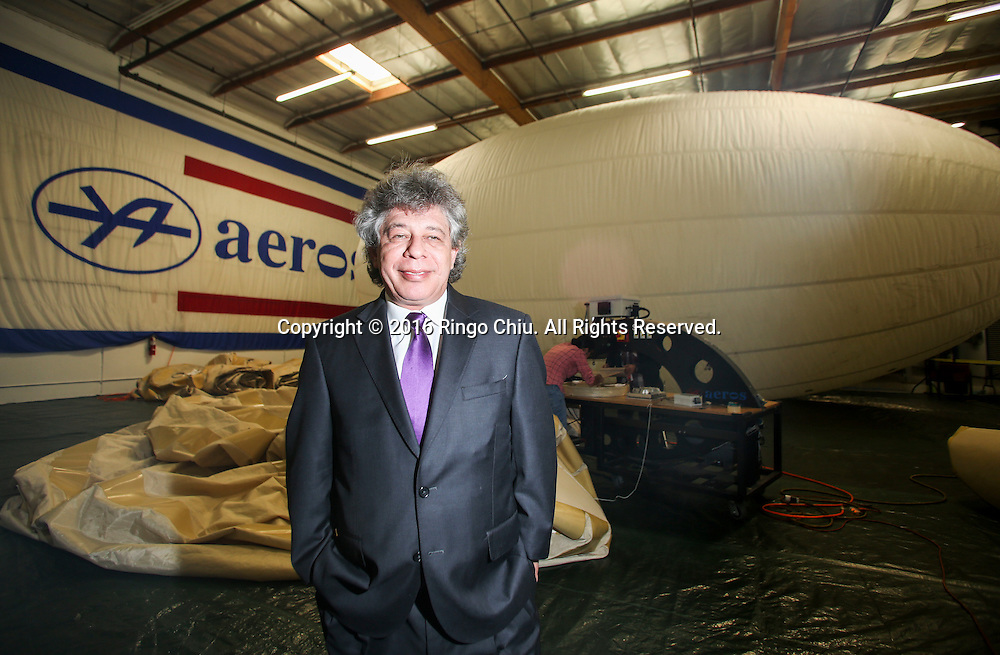 Igor Pasternak, chief executive of Worldwide Aeros Corp.<br /> (Photo by Ringo Chiu/PHOTOFORMULA.com)<br /> <br /> Usage Notes: This content is intended for editorial use only. For other uses, additional clearances may be required.
