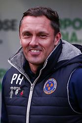 Shrewsbury Town manager Paul Hurst - Mandatory by-line: Ryan Crockett/JMP - 18/11/2017 - FOOTBALL - Aesseal New York Stadium - Rotherham, England - Rotherham United v Shrewsbury Town - Sky Bet League One