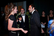 KATE GOLDSMITH; BEN GOLDSMITH; DAVID WALLIAMS, The Ormeley dinner in aid of the Ecology Trust and the Aspinall Foundation. Ormeley Lodge. Richmond. London. 29 April 2009