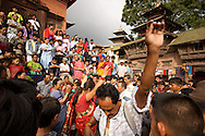 A festival in Durbar Square gives the local Hindus a reason to dance in the streets of Kathmandu.