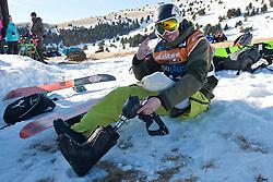 ILINOV Aleksandra, Banked Slalom, 2015 IPC Snowboarding World Championships, La Molina, Spain