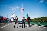August 25-27, 2017: Lamborghini Super Trofeo at Virginia International Raceway. Lamborghini grid girls