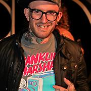 NLD/Amsterdam/20101029 - Premiere Jackass 3D, deelnemer the Voice of Holland, Ben Saunders