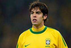 Kaka of Brazil during the 2010 FIFA World Cup South Africa Group G Second Round match between Brazil and République de Côte d'Ivoire on June 20, 2010 at Soccer City Stadium in Soweto, suburban Johannesburg, South Africa. (Photo by Vid Ponikvar / Sportida)