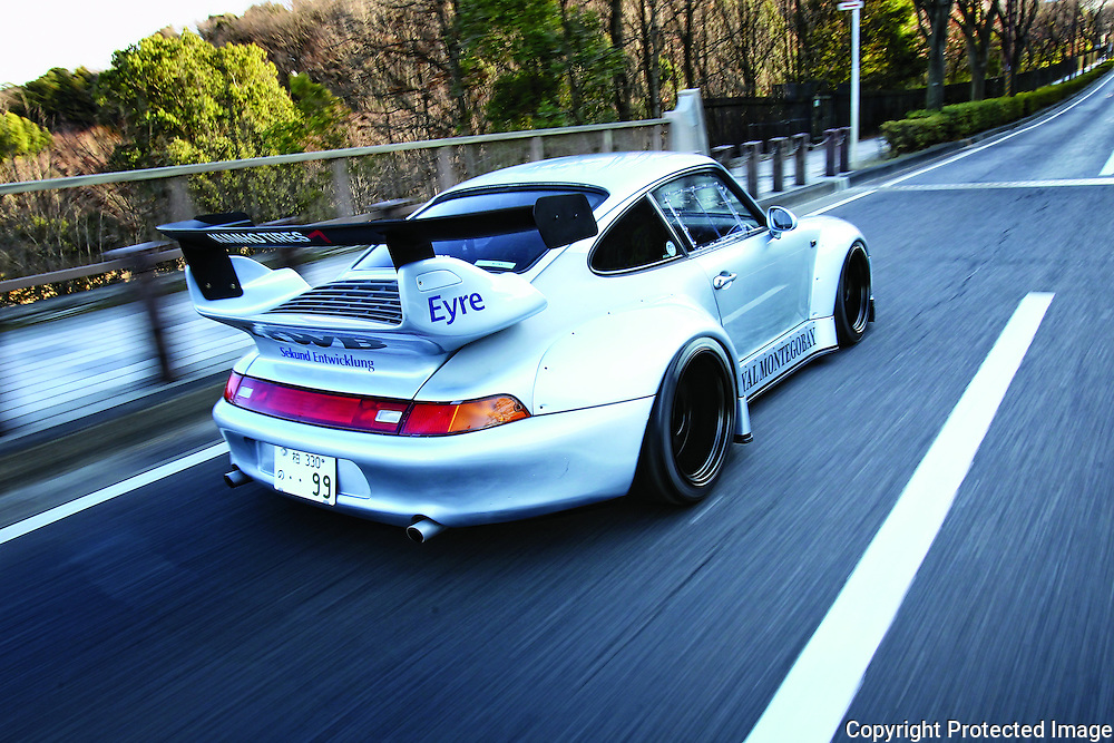 Rauh Welt Porsche Client: Heavy Hitters Magazine