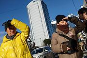 Street life in the Harajuku Omotosando area of Tokyo. japan