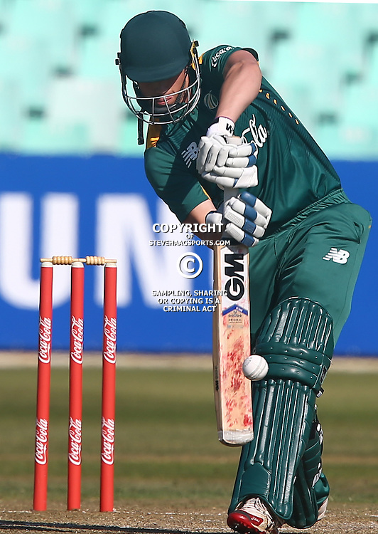 DURBAN, SOUTH AFRICA ,Sunday 19th July, during the  South African under 19s vs the Bangladesh under 19s Cricket Series the last ODI match at Sahara Stadium Kingsmead Sunday 19th July Durban (Photo by Steve Haag)
