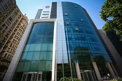 June 19, 2017 - Baku, Azerbaijan - A general view shows the the International bank of Azerbaijan headquarters building. (Credit Image: © Aziz Karimov/Pacific Press via ZUMA Wire)