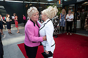 Judith Chalmers; Barbara Windsor;  attend The Galleries of Modern London launch party at the Museum of London on May 27, 2010 in London. <br /> -DO NOT ARCHIVE-© Copyright Photograph by Dafydd Jones. 248 Clapham Rd. London SW9 0PZ. Tel 0207 820 0771. www.dafjones.com.
