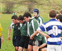 Rice College Front Row  V Garbally College...Pic Conor McKeown