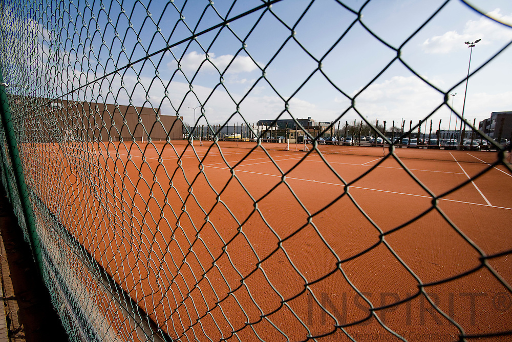 BRUSSELS - BELGIUM - 06 MARCH 2009 --  The NATO Headquarters. The NATO tennis field. Photo: Erik Luntang