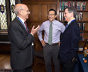 Photo by Mara Lavitt<br /> September 30, 2016<br /> The inaugural celebration for the Paul Tsai China Center, Yale Law School, Yale University, New Haven, CT. Joe Tsai donated $30 million to rename the center for his father.