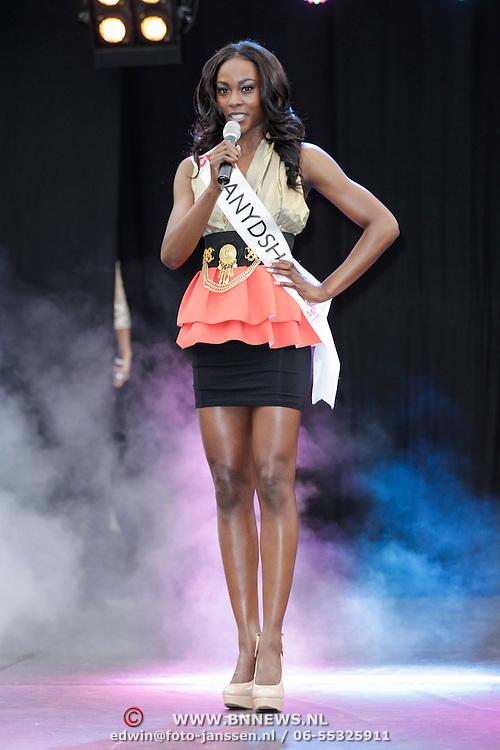 NLD/Rotterdam/20120615 - Verkiezing Miss Zuid-Holland 2012, Danydsha Nooitmeer