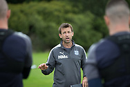 Dundee manager Neil McCann during Dundee FC training at Michelin Grounds, Dundee, Photo: David Young<br /> <br />  - &copy; David Young - www.davidyoungphoto.co.uk - email: davidyoungphoto@gmail.com
