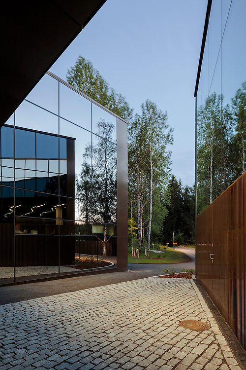 Art Museum Gösta, part of Serlachius Musuems in Mänttä, Finland designed by MX-SI architectural studio.