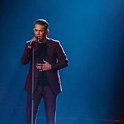 NLD/Hilversum/20190201- TVOH 2019 1e liveshow, Menno Aben