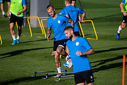 Aljaz Struna during practice session of Slovenian national football team in national football center in Brdo, 2nd of September, 2019, NNC Brdo. Photo by Grega Valancic / Sportida