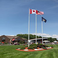A general view of the grounds during the 2013 International Boxing Hall of Fame induction ceremony  on Sunday, June 9, 2013 in Canastota, New York.  (AP Photo/Alex Menendez)