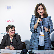 20160615 - Brussels , Belgium - 2016 June 15th - European Development Days - Combating Forced Labour and Child Labour Through Supply Chain Interventions - Beate Andrees , Chief of Fundamental Principles and Rights at Work Branch , International Labour Organisation © European Union