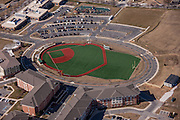 Baltimore aerial photography of 33rd Street YMCA RIpken Field by Jeffrey Sauers of Commercial Photographics