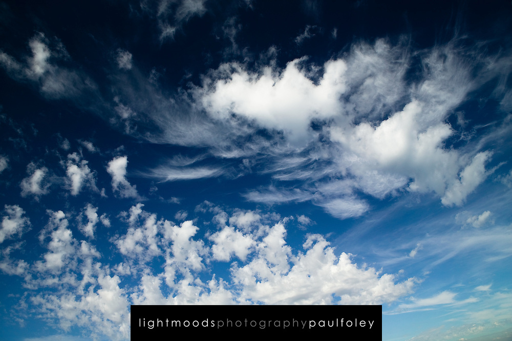 Cloud Formations over Fremantle, Western Australia