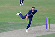 James Anderson of Lancashire bowling during the Royal London One Day Cup semi-final match between Hampshire County Cricket Club and Lancashire County Cricket Club at the Ageas Bowl, Southampton, United Kingdom on 12 May 2019.