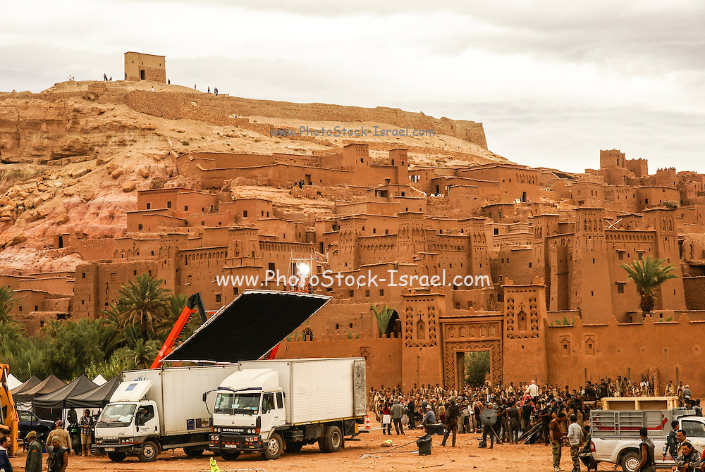 Filming of Game of Thrones in the village of Ait Benhaddou, Morocco