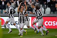 Sebastian Giovinco esultanza , goal celebration , Juventus.Calcio Juventus vs Sampdoria.Serie A - Torino 06/1/2013 Juventus Stadium .Football Calcio 2012/2013.Foto Federico Tardito Insidefoto